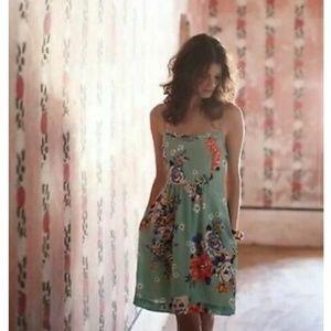 🆕️🌺 Anthro Moulinette Soeurs Verdant Floral Dres